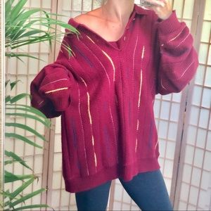 VtG Embroidered dazey  oversized sweater